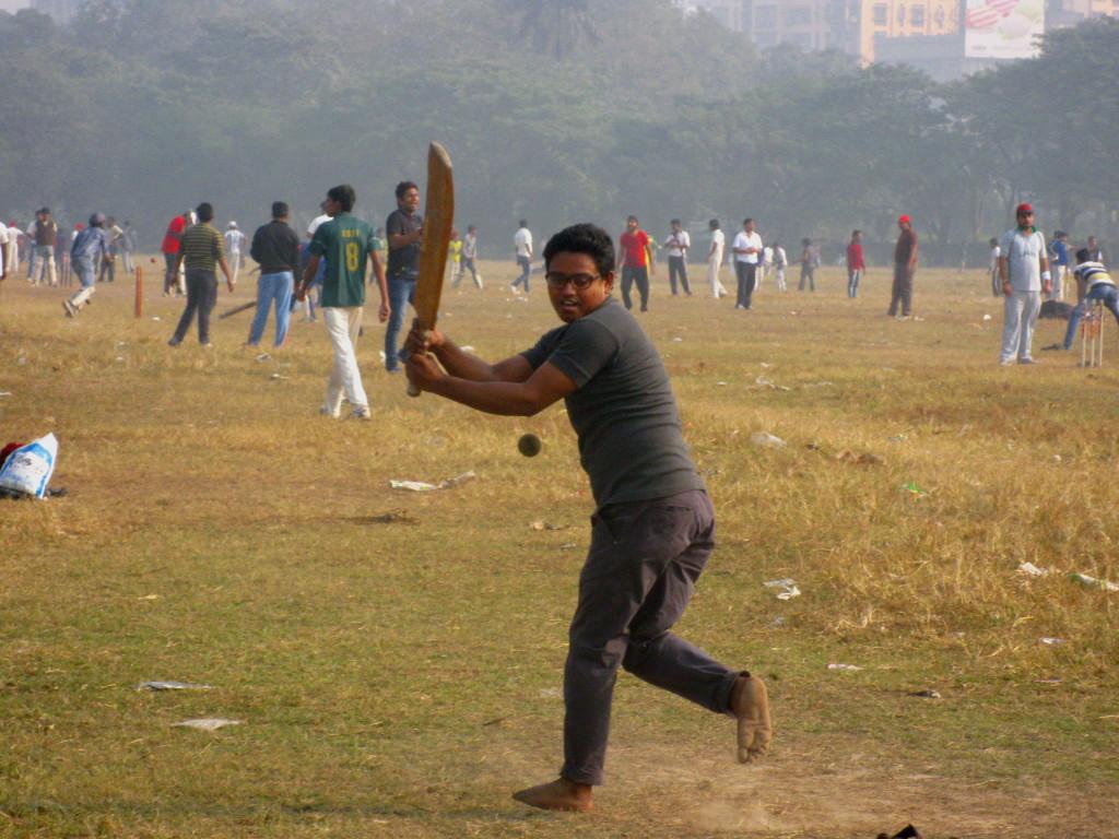 Cricket on Maidan