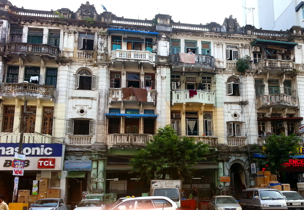Yangon - grandeur hidden at first glance.