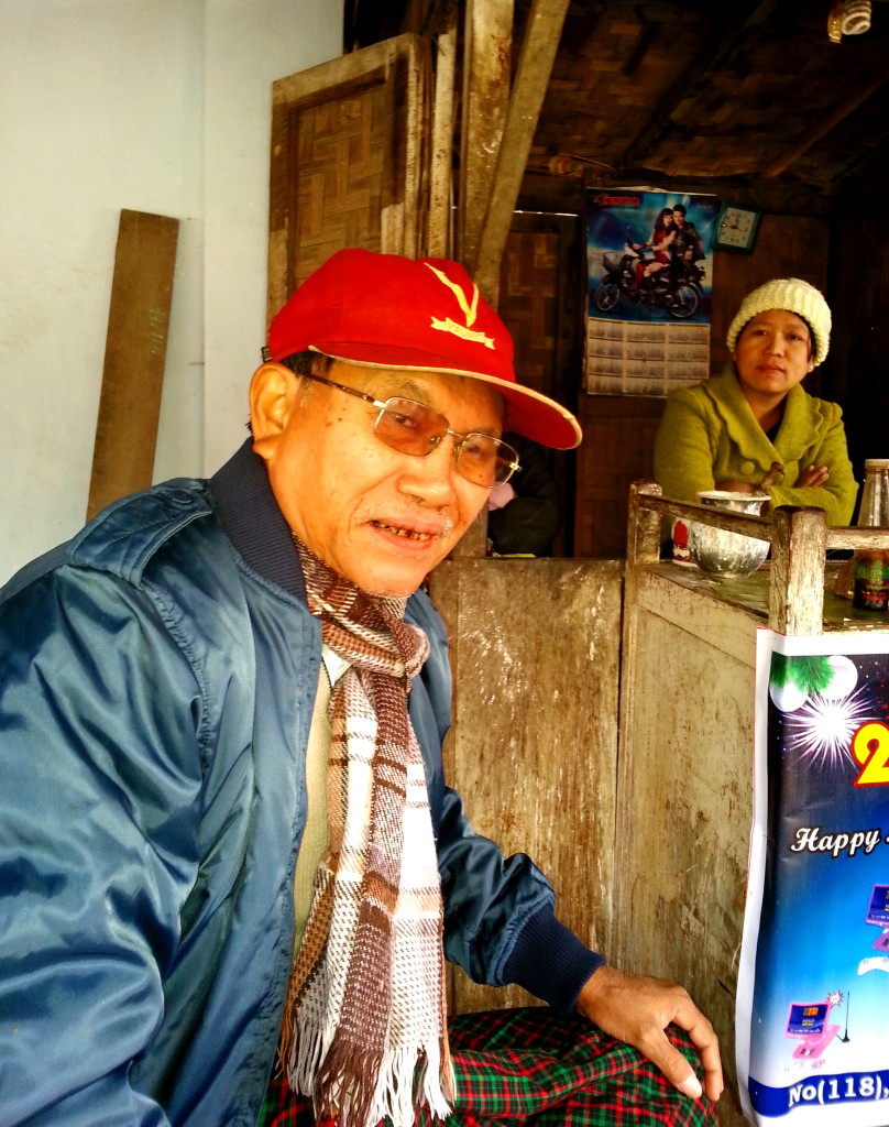 Kalewa elder, U Pho Htsin
