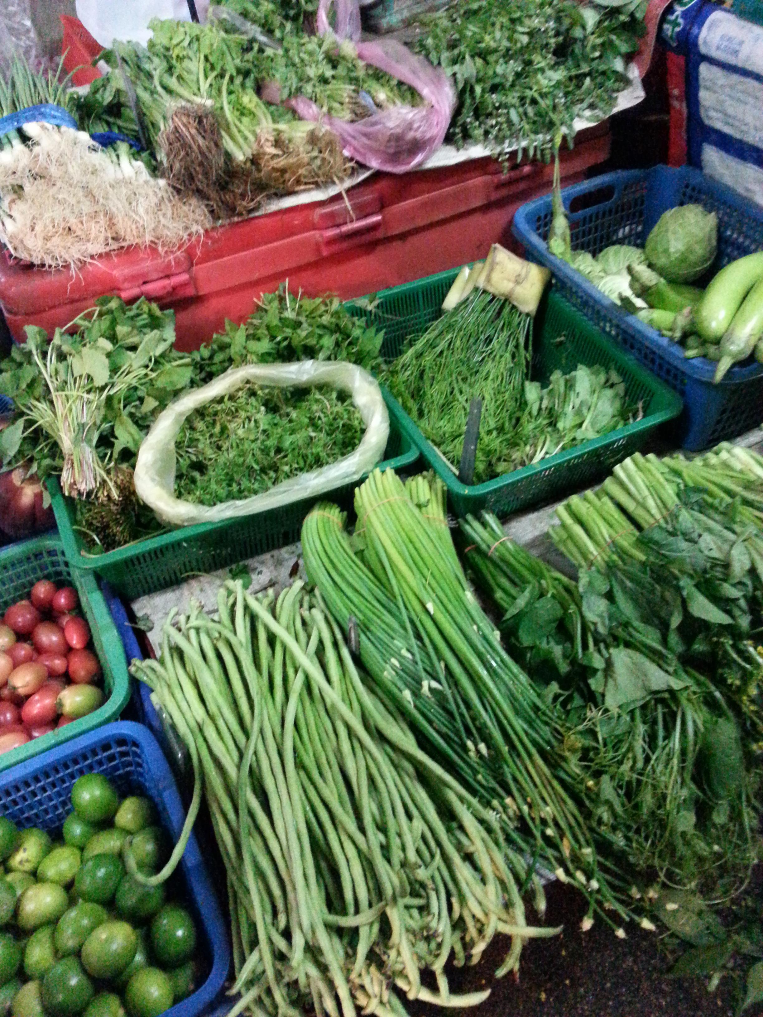 Bangkok green is beautiful food