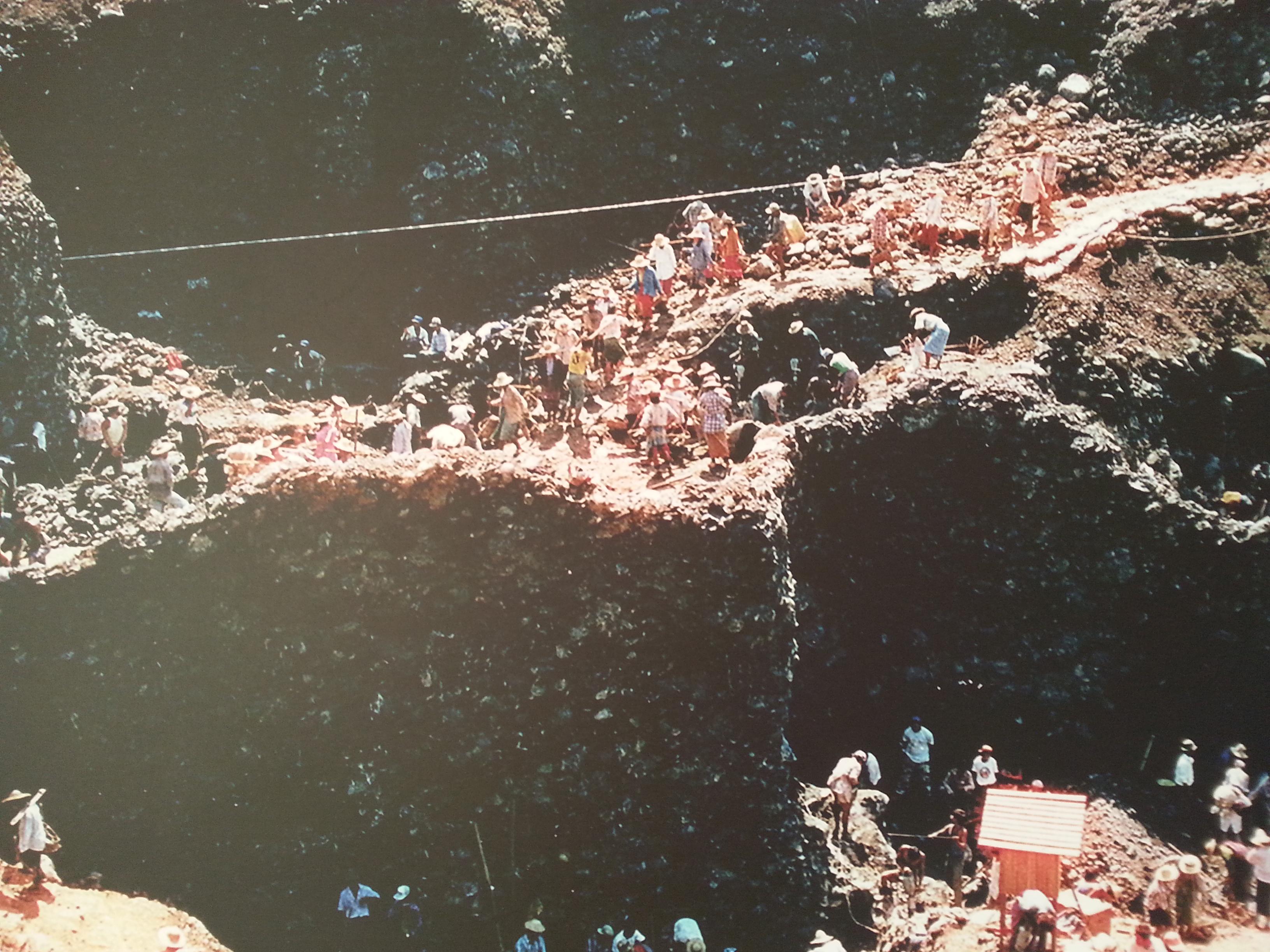 Mining in Myanmar